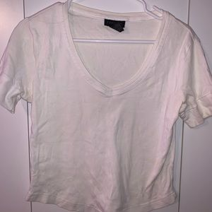 L White Express Short-Sleeve Top